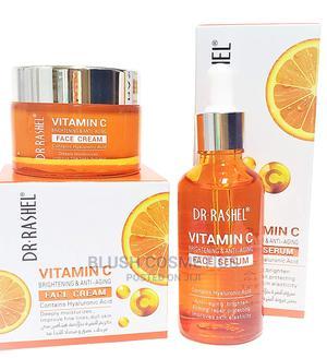Dr Rashel Vitamin C Face Serum and Vitamin C Face Cream 50g | Skin Care for sale in Abuja (FCT) State, Gwarinpa