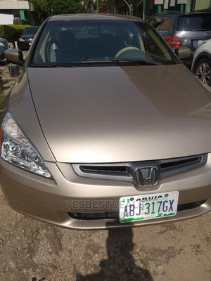 Honda Accord 2005 2.0 Comfort Automatic Gold | Cars for sale in Abuja (FCT) State, Garki 2