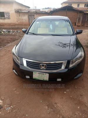 Honda Accord 2008 2.0i-VTEC Executive Black | Cars for sale in Ekiti State, Oye