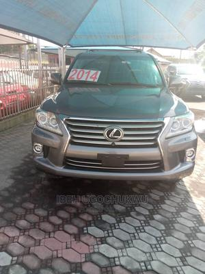 Lexus LX 2014 570 AWD Gray   Cars for sale in Lagos State, Lekki