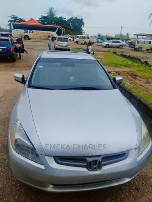 Honda Accord 2005 Automatic Silver   Cars for sale in Lagos State, Badagry