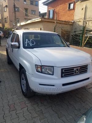 Honda Ridgeline 2007 White   Cars for sale in Lagos State, Isolo