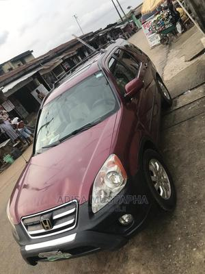 Honda CR-V 2005 2.0i LS Automatic Red | Cars for sale in Lagos State, Ogba