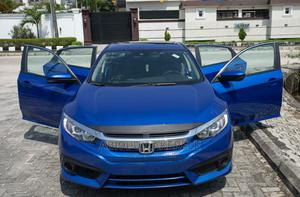 Honda Civic 2018 EX-L W/Navi Hatchback Blue   Cars for sale in Lagos State, Magodo