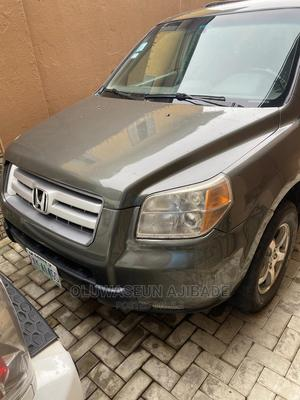 Honda Pilot 2006 EX 4x4 (3.5L 6cyl 5A) Green | Cars for sale in Lagos State, Alimosho