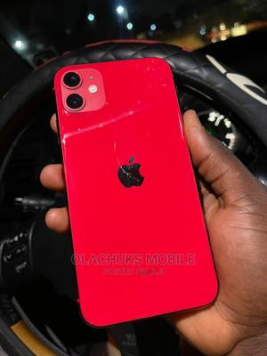 Apple iPhone 11 128 GB Red   Mobile Phones for sale in Lagos State, Ikeja