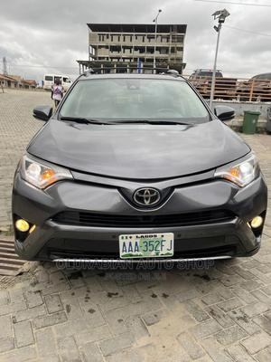 Toyota RAV4 2016 XLE AWD (2.5L 4cyl 6A) Gray | Cars for sale in Lagos State, Ajah