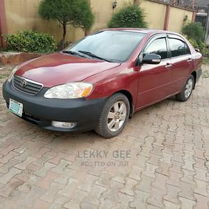 Toyota Corolla 2007 S Red | Cars for sale in Lagos State, Alimosho