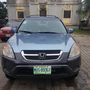 Honda CR-V 2004 EX 4WD Automatic Blue | Cars for sale in Lagos State, Yaba