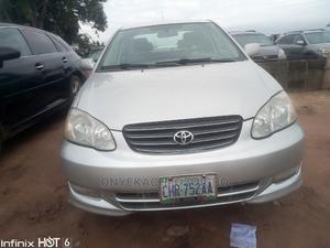Toyota Corolla 2003 Sedan Automatic Silver | Cars for sale in Imo State, Owerri