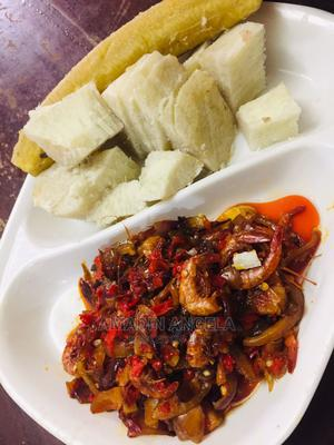 Yam and Crayfish Sauce   Meals & Drinks for sale in Edo State, Benin City