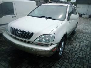 Lexus RX 2001 300 White   Cars for sale in Lagos State, Ajah