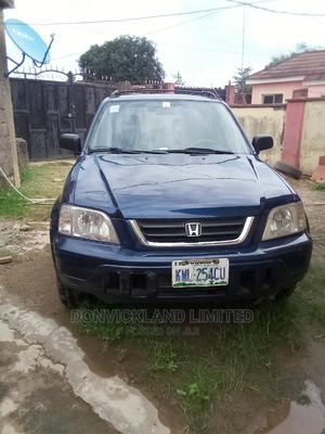 Honda CR-V 1999 2.0 Automatic Blue | Cars for sale in Abuja (FCT) State, Lugbe District
