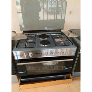 Maxi 60*90 4 Gas + 2 Electric Cooker + Oven+Auto Ignition   Kitchen Appliances for sale in Lagos State, Ojo