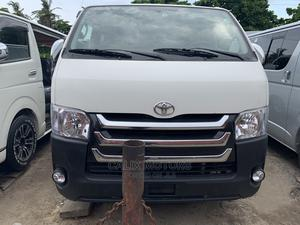 Foreign Used Toyota Hiace 2010 Hummer White | Buses & Microbuses for sale in Lagos State, Apapa