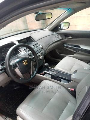 Honda Accord 2008 2.0 Comfort Automatic Black   Cars for sale in Anambra State, Ihiala