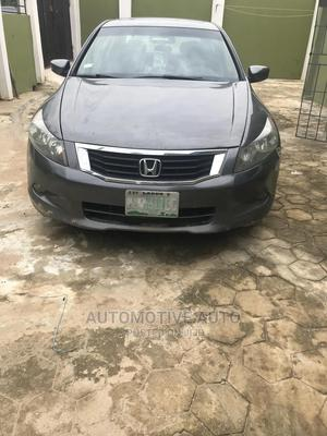 Honda Accord 2008 3.5 EX Automatic Gray | Cars for sale in Lagos State, Ejigbo