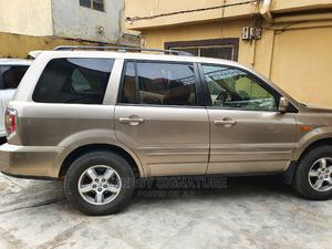 Honda Pilot 2007 EX 4x4 (3.5L 6cyl 5A) Gold | Cars for sale in Lagos State, Ikeja