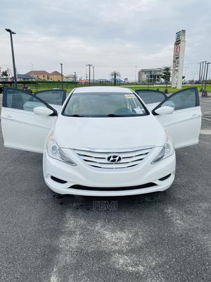 Hyundai Sonata 2011 White   Cars for sale in Lagos State, Ajah