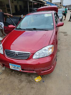 Toyota Corolla 2005 S Red | Cars for sale in Lagos State, Surulere