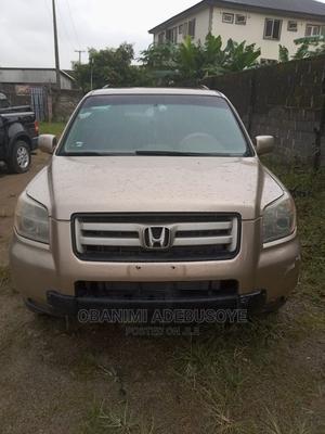 Honda Pilot 2006 Gold   Cars for sale in Lagos State, Alimosho