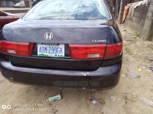 Honda Accord 2004 Sedan EX Black | Cars for sale in Rivers State, Port-Harcourt