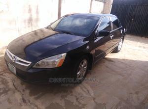 Honda Accord 2007 Sedan LX Automatic Black   Cars for sale in Oyo State, Ibadan