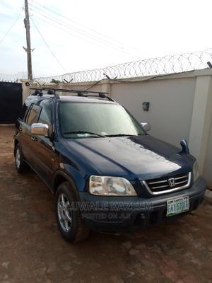 Honda CR-V 1998 2.0 4WD Automatic Blue | Cars for sale in Lagos State, Ifako-Ijaiye