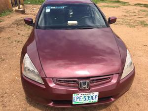 Honda Accord 2005 Red   Cars for sale in Delta State, Sapele
