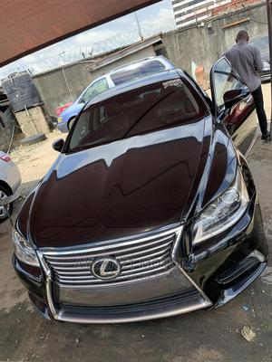Lexus LS 2013 460 AWD Black   Cars for sale in Lagos State, Surulere