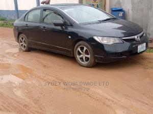 Honda Civic 2007 Black   Cars for sale in Lagos State, Alimosho