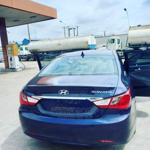 Hyundai Sonata 2012 Blue   Cars for sale in Lagos State, Ikeja