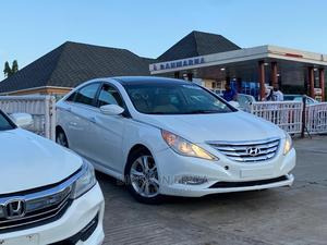 Hyundai Sonata 2013 White | Cars for sale in Abuja (FCT) State, Lugbe District
