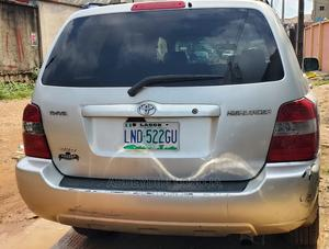 Toyota Highlander 2005 4x4 Silver   Cars for sale in Lagos State, Alimosho
