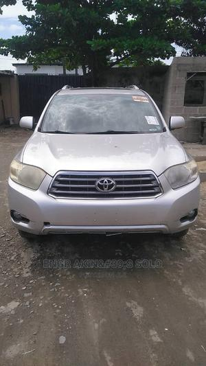 Toyota Highlander 2008 4x4 Gray   Cars for sale in Lagos State, Apapa
