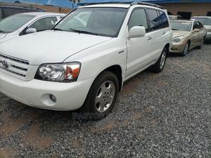 Toyota Highlander 2006 White   Cars for sale in Lagos State, Isolo