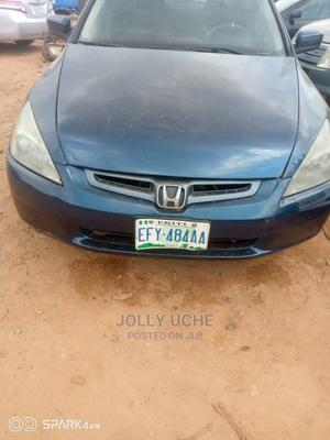 Honda Accord 2005 2.0 Comfort Automatic Blue | Cars for sale in Abuja (FCT) State, Lugbe District