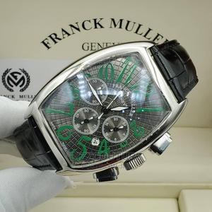 High Quality FRANCK MULLER Black Leather Watch for Men   Watches for sale in Abuja (FCT) State, Wuse 2