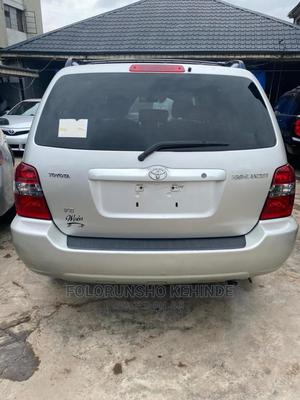 Toyota Highlander 2005 V6 4x4 Silver   Cars for sale in Lagos State, Ikeja