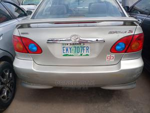 Toyota Corolla 2003 Sedan Automatic Silver   Cars for sale in Lagos State, Alimosho
