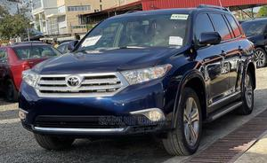 Toyota Highlander 2013 Limited 3.5L 2WD Blue   Cars for sale in Abuja (FCT) State, Mabushi