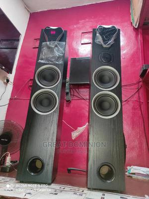 Super Canic Home Theater 25000watts Powerful Bass+ Dvd Play | Audio & Music Equipment for sale in Lagos State, Ojo