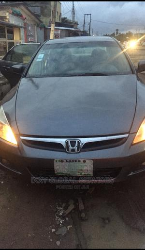 Honda Accord 2006 2.4 Executive Gray   Cars for sale in Lagos State, Ikeja