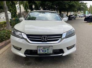 Honda Accord 2014 White   Cars for sale in Abuja (FCT) State, Central Business District