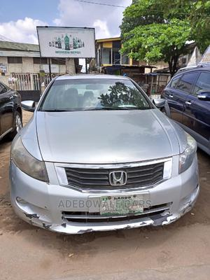 Honda Accord 2008 3.5 EX Automatic Silver | Cars for sale in Lagos State, Ikorodu