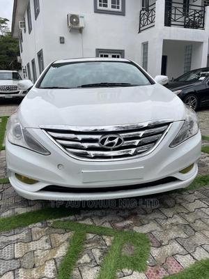 Hyundai Sonata 2012 White | Cars for sale in Lagos State, Lekki