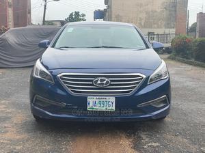 Hyundai Sonata 2016 Blue   Cars for sale in Lagos State, Ikeja