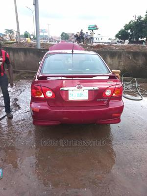 Toyota Corolla 2004 S Red | Cars for sale in Lagos State, Magodo