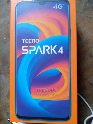 Tecno Spark 4 32 GB Blue   Mobile Phones for sale in Ogun State, Abeokuta South