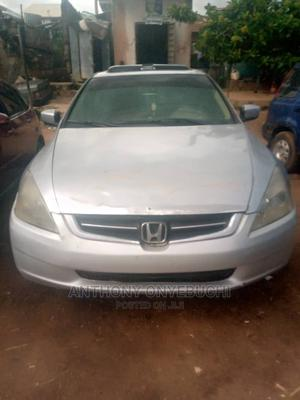 Honda Accord 2005 2.0 Comfort Automatic Silver | Cars for sale in Plateau State, Jos